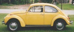 Bug-out transportation - VW Bug