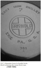 Griswold double circle