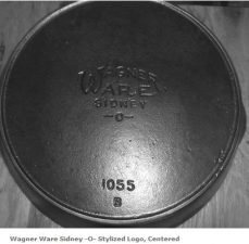 Wagner Ware stylized logo centered