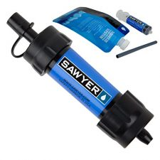 Sawyer Products SP128 Mini Water Filtration System - Bug Out Bag Essentials