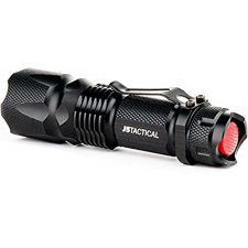 J5 Tactical V1-Pro Flashlight – The Original 300 Lumen Ultra Bright, LED 3 Mode Flashlight